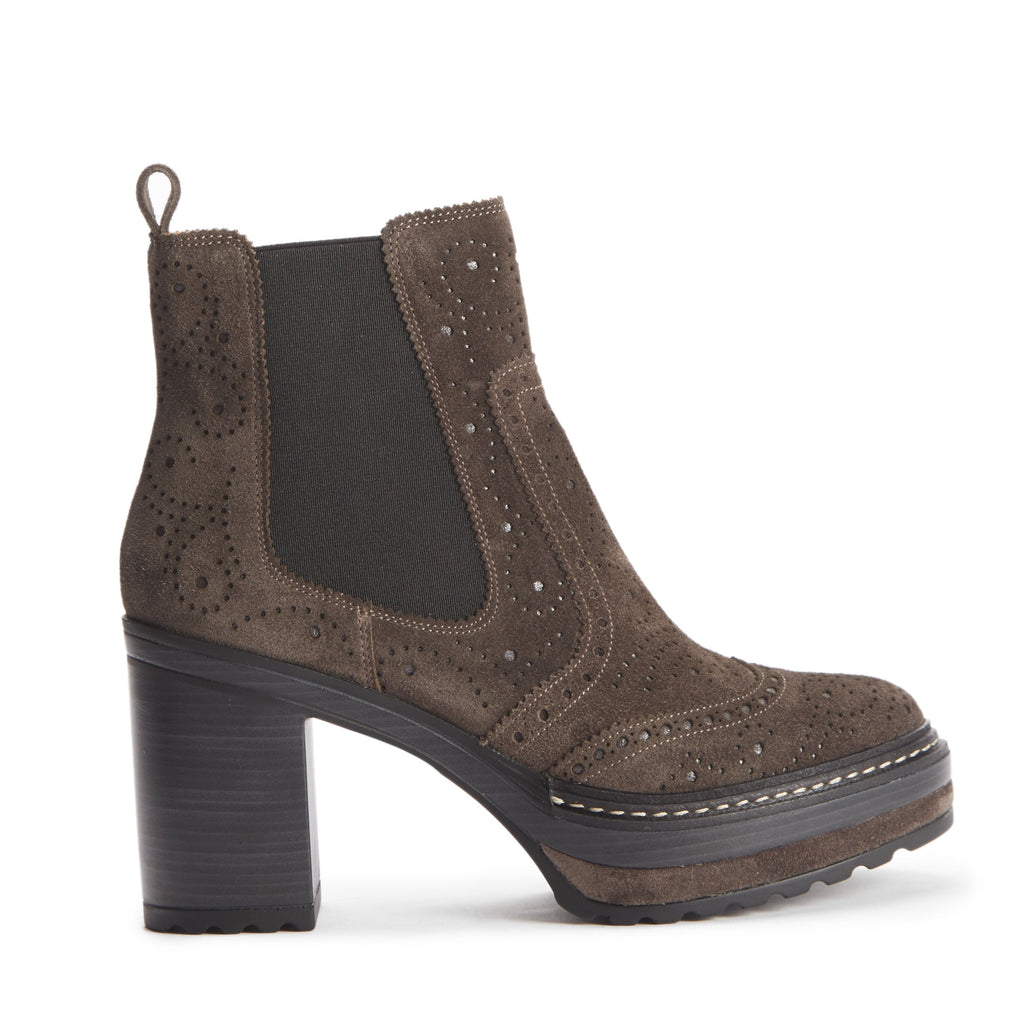 Hetre Alresford Boutique Boot Anthracite Platfrom Heeled Chelsea Pons Quintana
