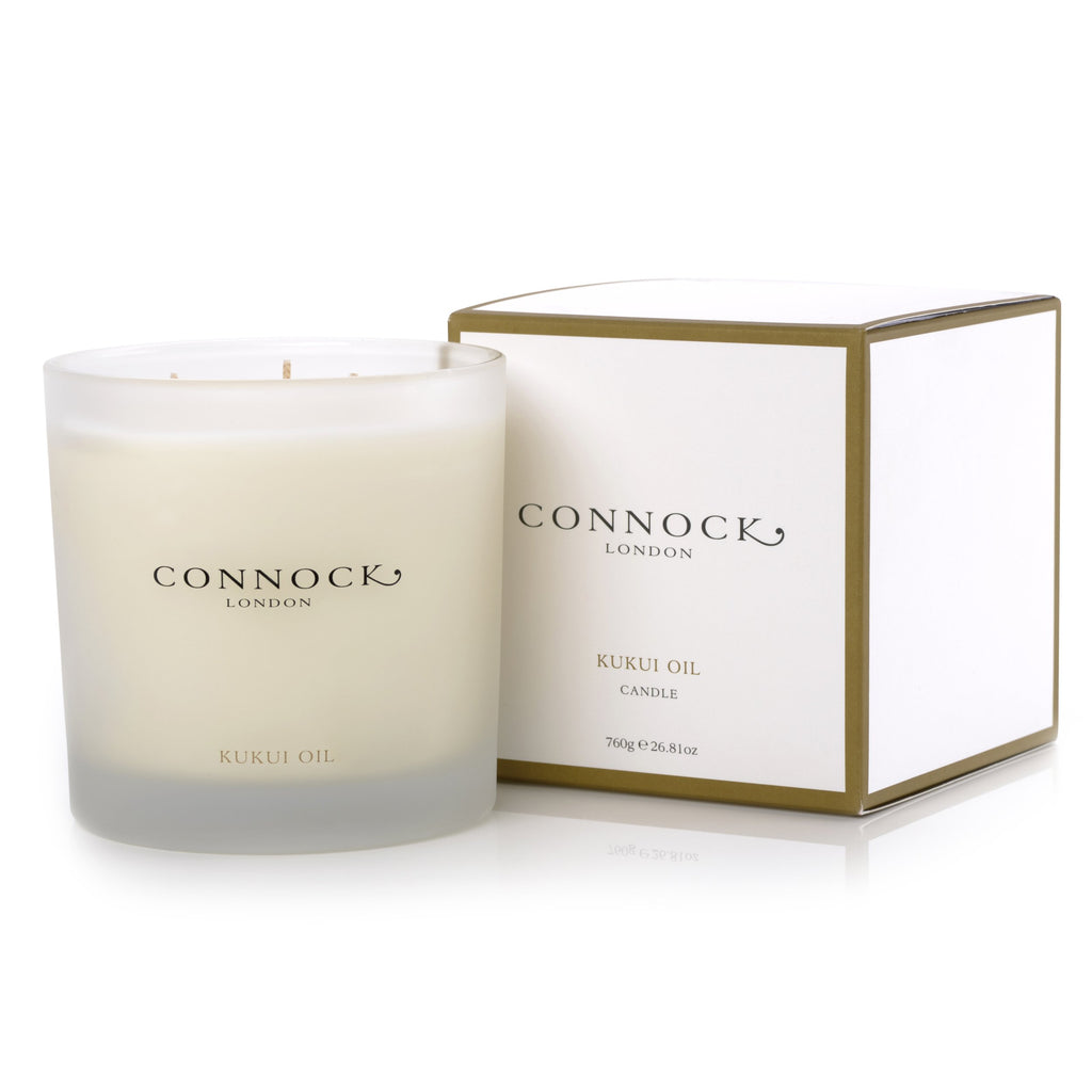 Hetre Alresford Boutique Connock Kukui 3 Wick Candle