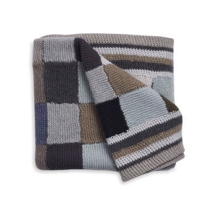 Hetre Alresford Boutique English Weather Mutli Coloured Cashmere Blanket