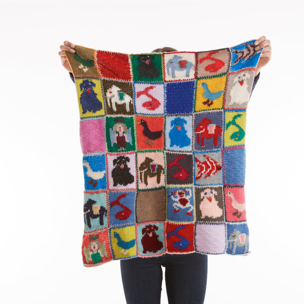 Hetre Alresford Boutique Knitted Animal Baby Blanket