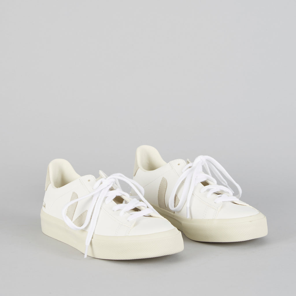 Hetre Alresford Hampshire Shoe Shop Boutique Veja Campo Chromefree extra white natural