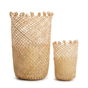 arche living stunning woven hand made hurricane lamp cover