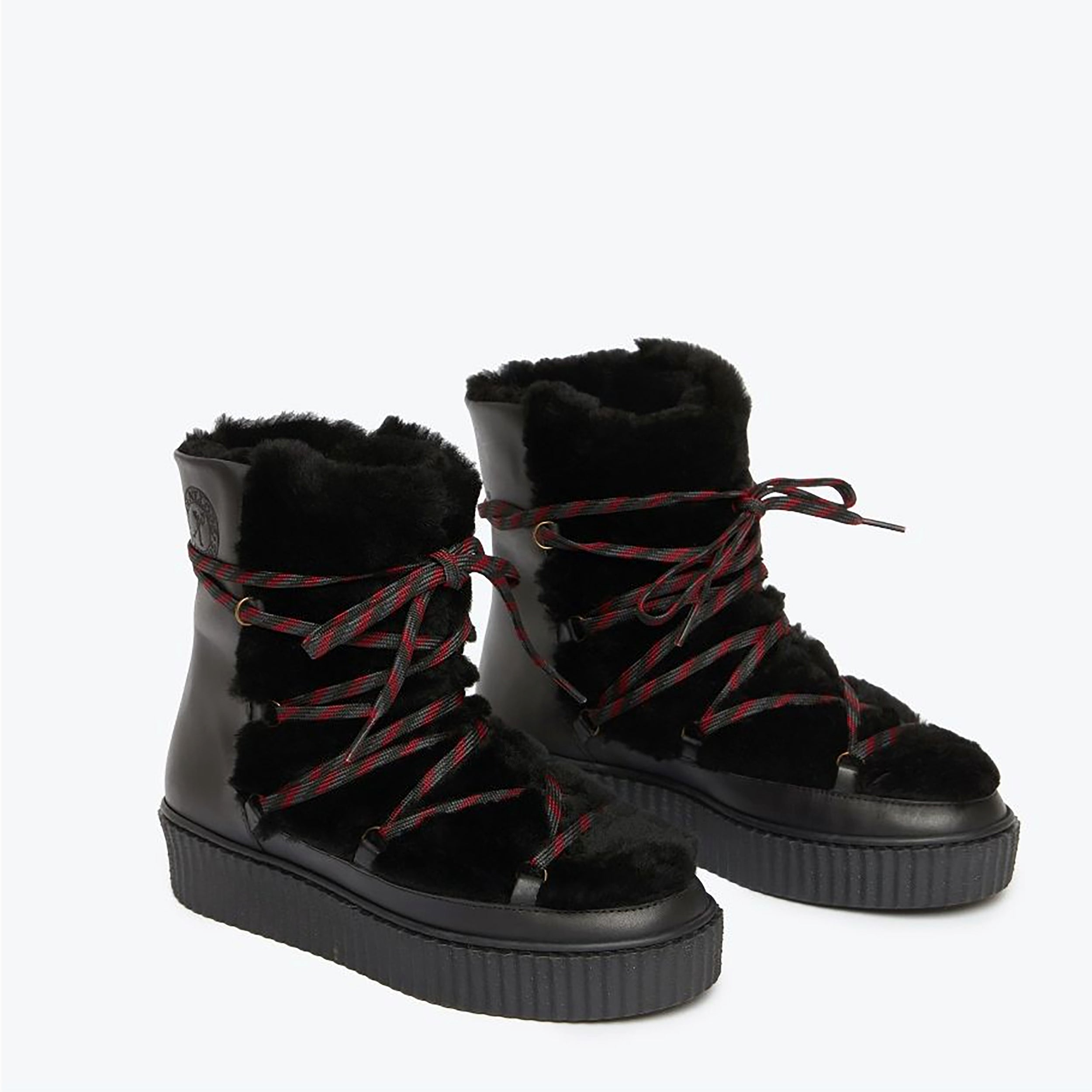 Hetre Alresford Boutique Black Galaxy Snow Boot Penelope Chilvers