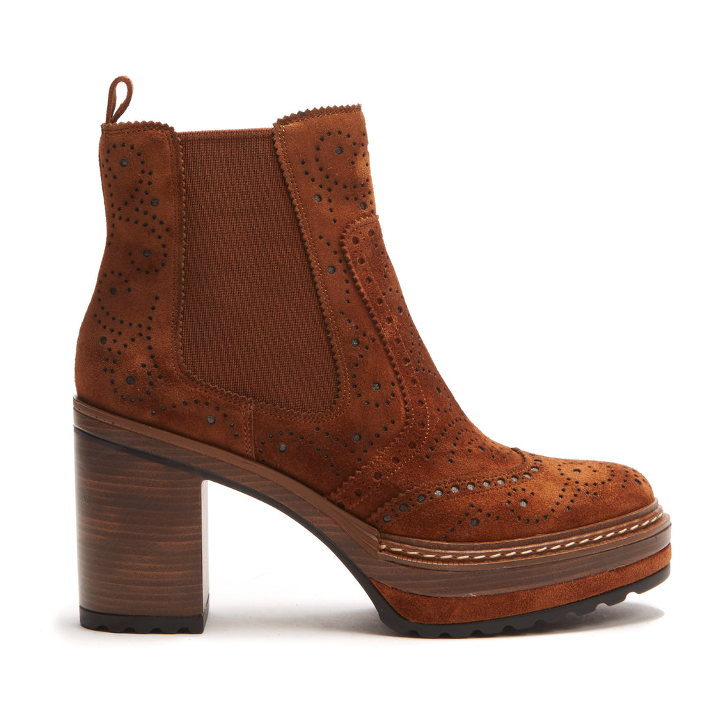 Hetre Alresford Boutique Chelsea Boot Heeled Pons Quintana Cacao