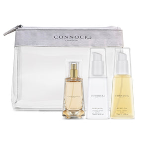 Hetre Alresford Boutique Connock Kukui Oil Travel Set Canvas