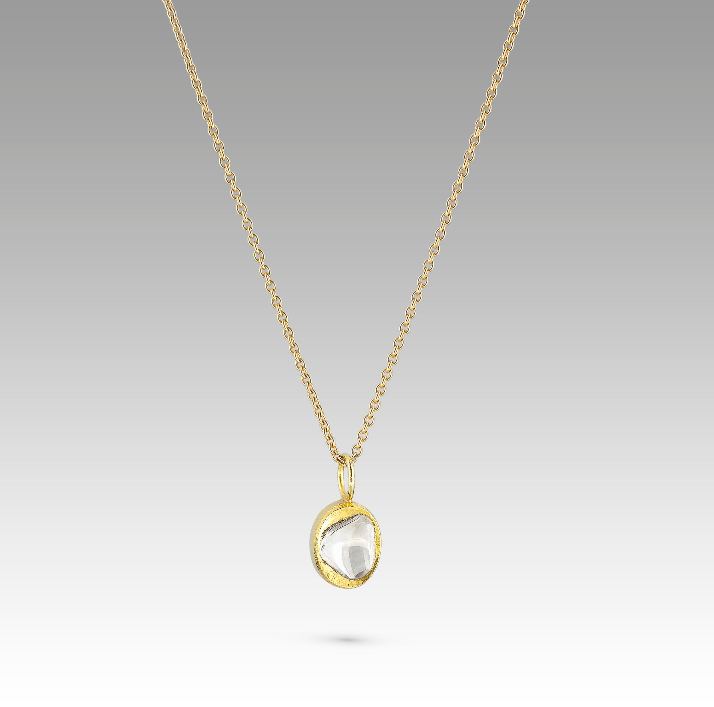 Sophie Theakston Polki Diamond Nugget Necklace