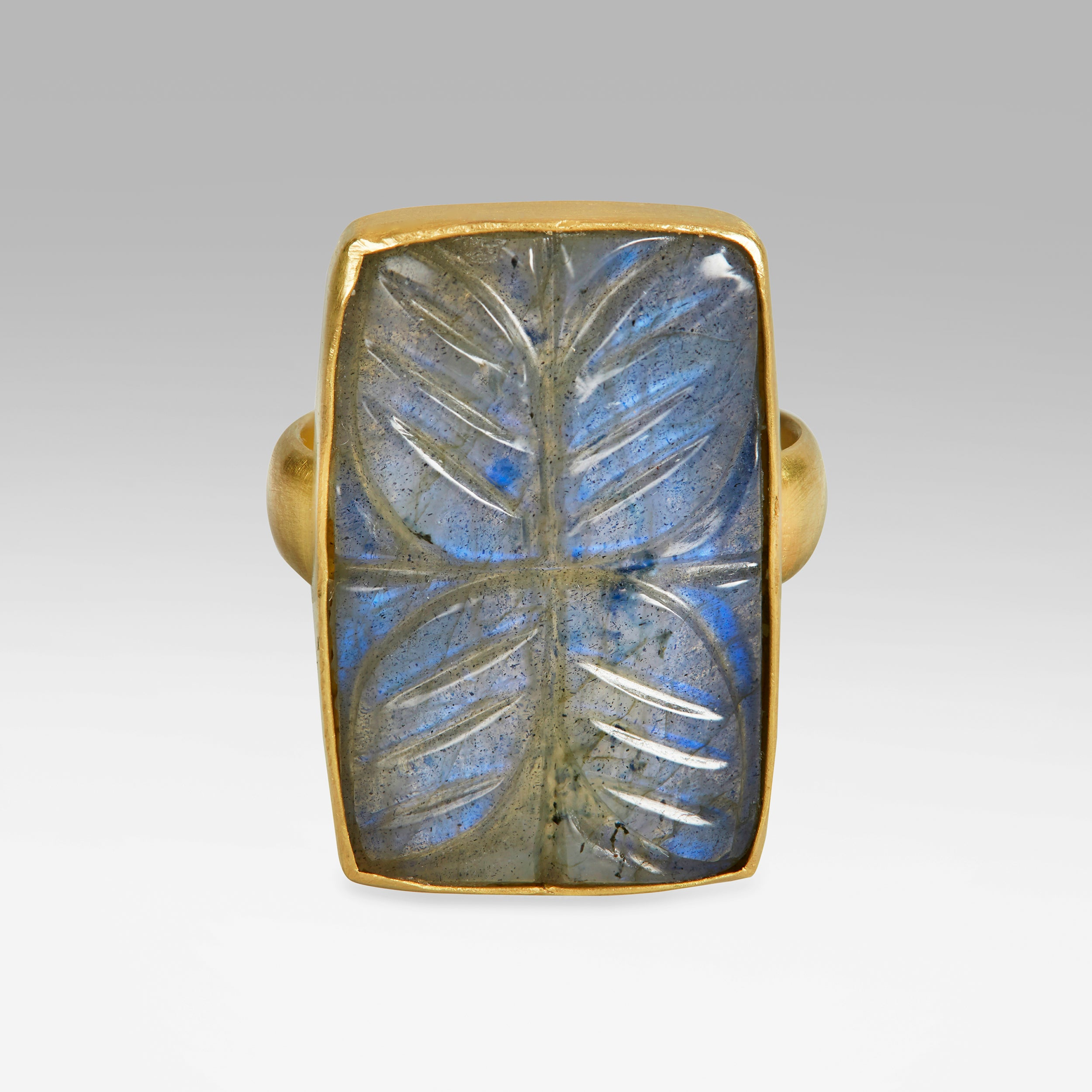 Sophie Theakston Labradorite Lotus Ring