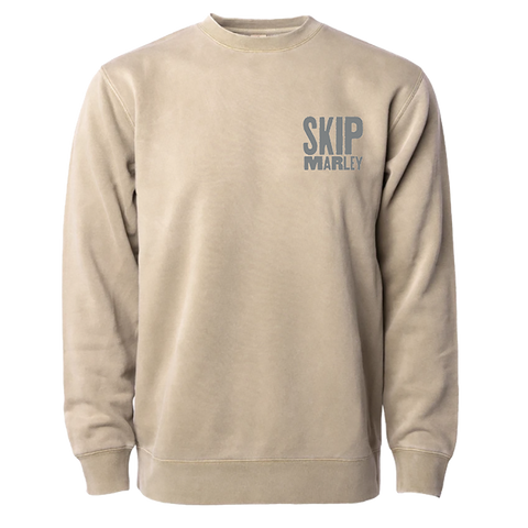 Skip Marley Tan Crewneck + Digital Album