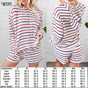 Striped PJS #899