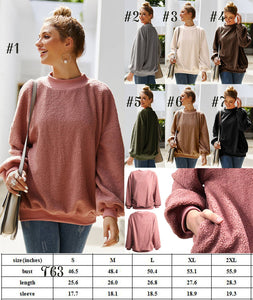 Sherpa Pullover #1489