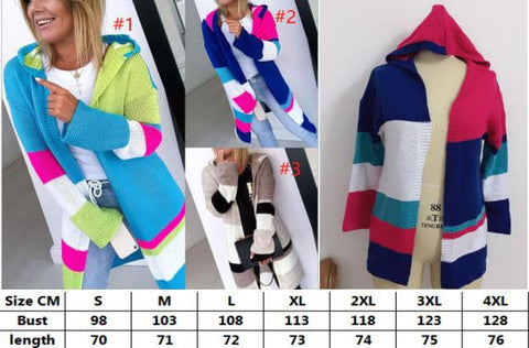 Colorful Cardigan #1558