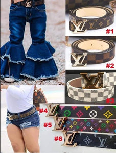 Children's LV Belts #1453