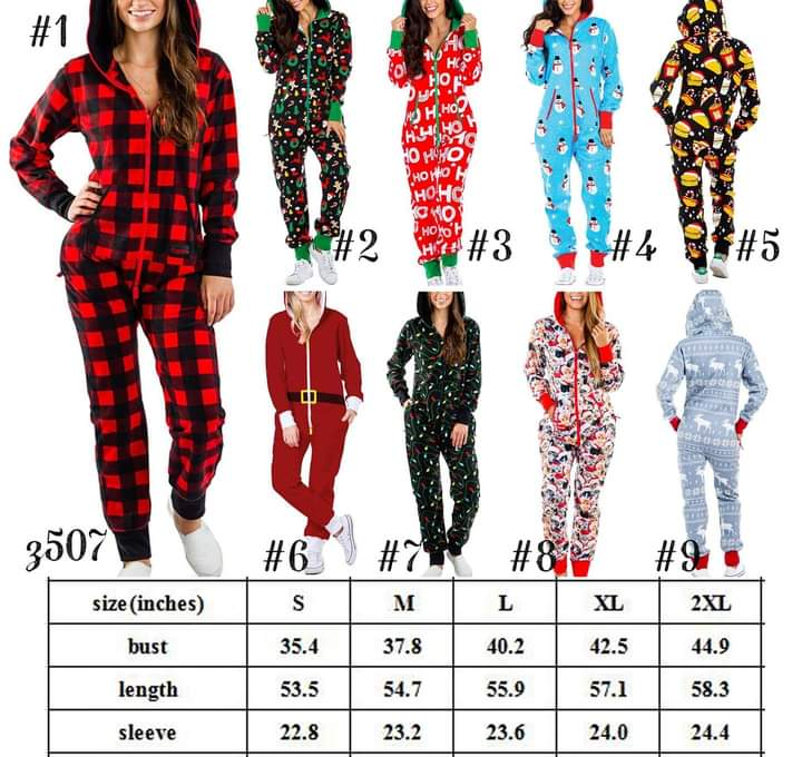 Christmas Jumpsuit #1406