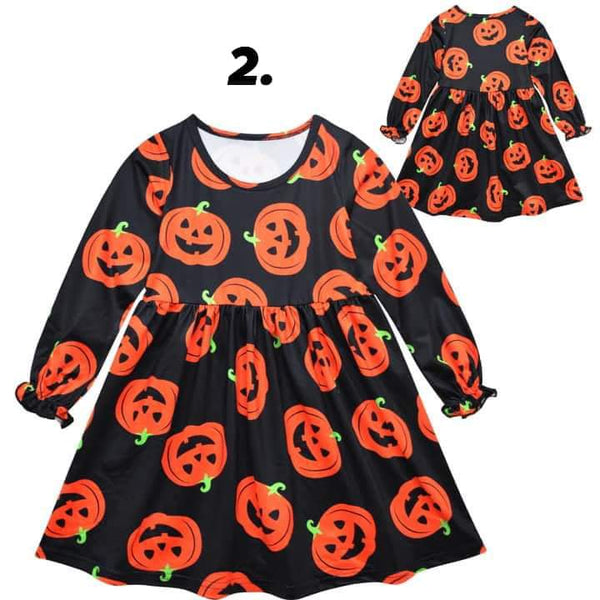 Children's Halloween Dress #1386