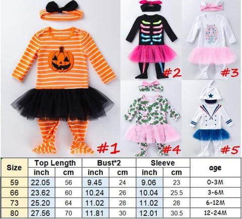 Children's Halloween Outfit #1220