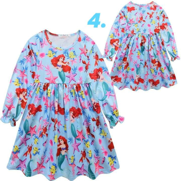 Children's Printed Dress #1387