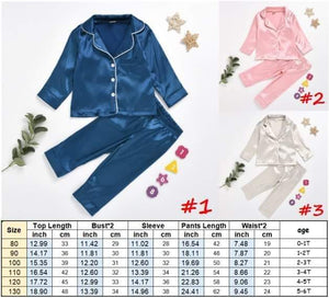 Children's Silk PJS #1111