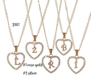 Initial Love Necklace #1203