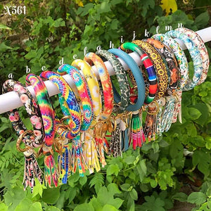 Leather Tassel Bracelets #949
