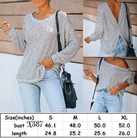 Knotted Back Top #1443