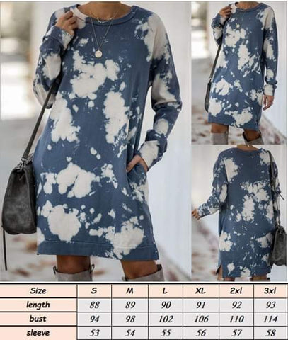 Bleached Tunic #1357