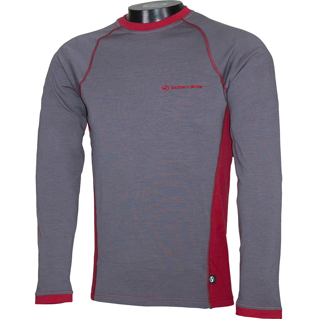 Merino Mid Layer - Long Sleeve Ski Layer