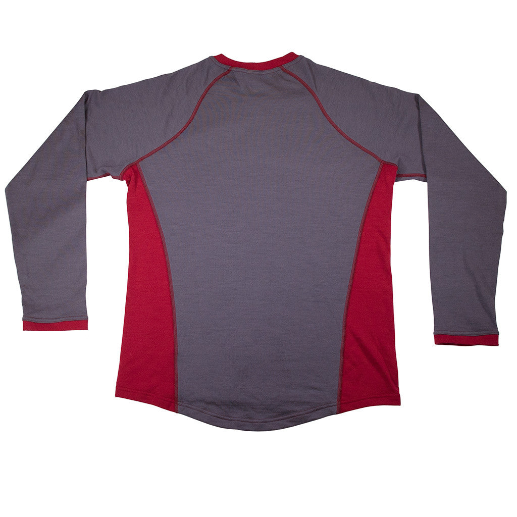 Merino Mid Layer - Long Sleeve Back View