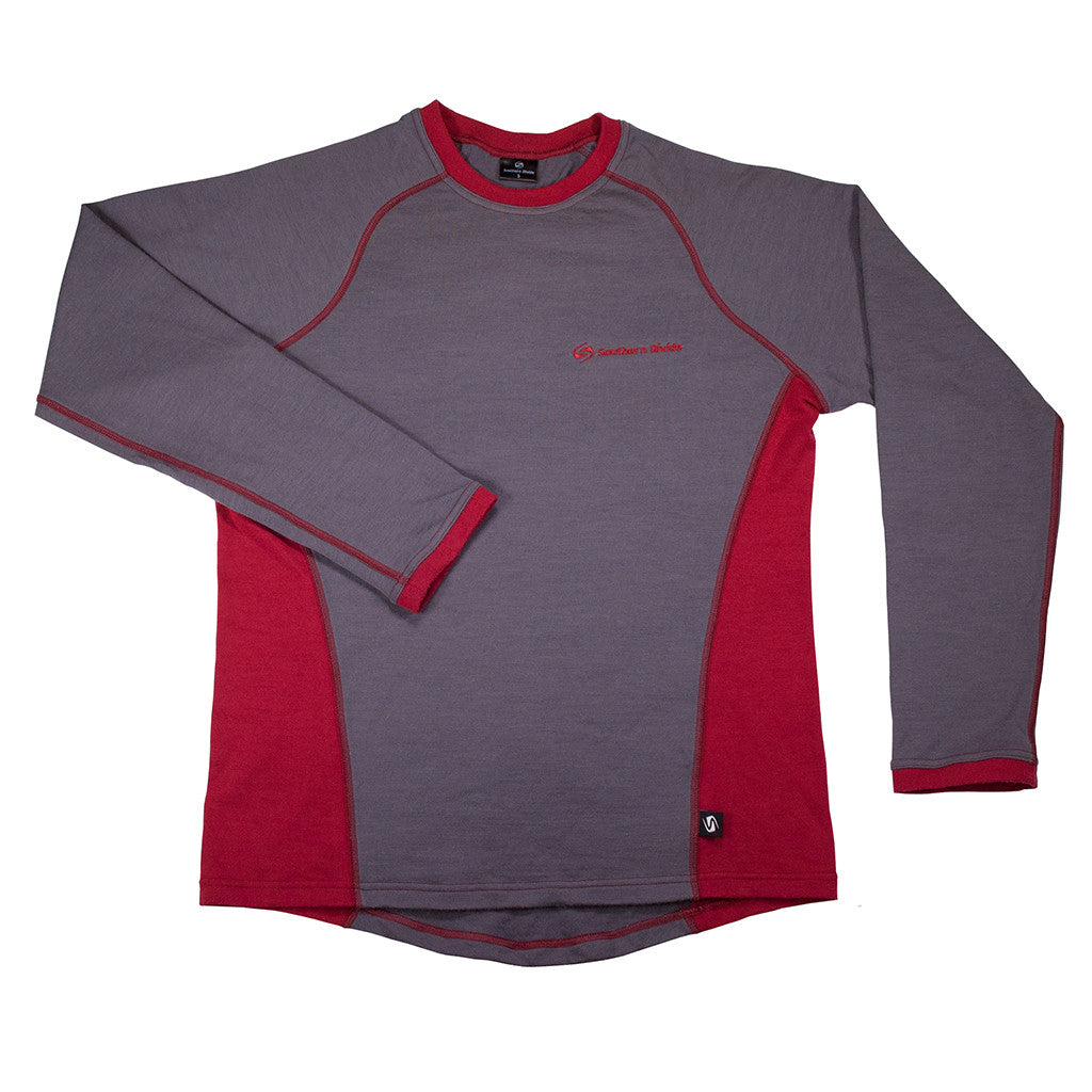 Merino Mid Layer - Long Sleeve Front View