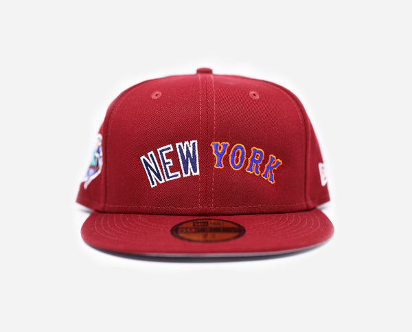 New York Unity Series 59FIFTY Fitted (Maroon)