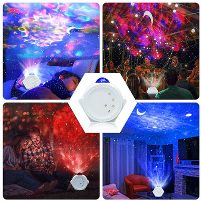 Brisk star night light projector starry sky moon projector