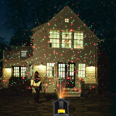 Moving Full Sky Star Laser Projector Landscape Lighting