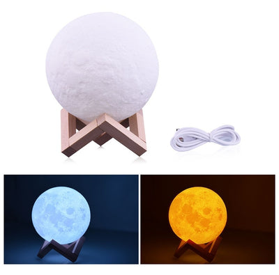 led moon Light lamp  multi-colors