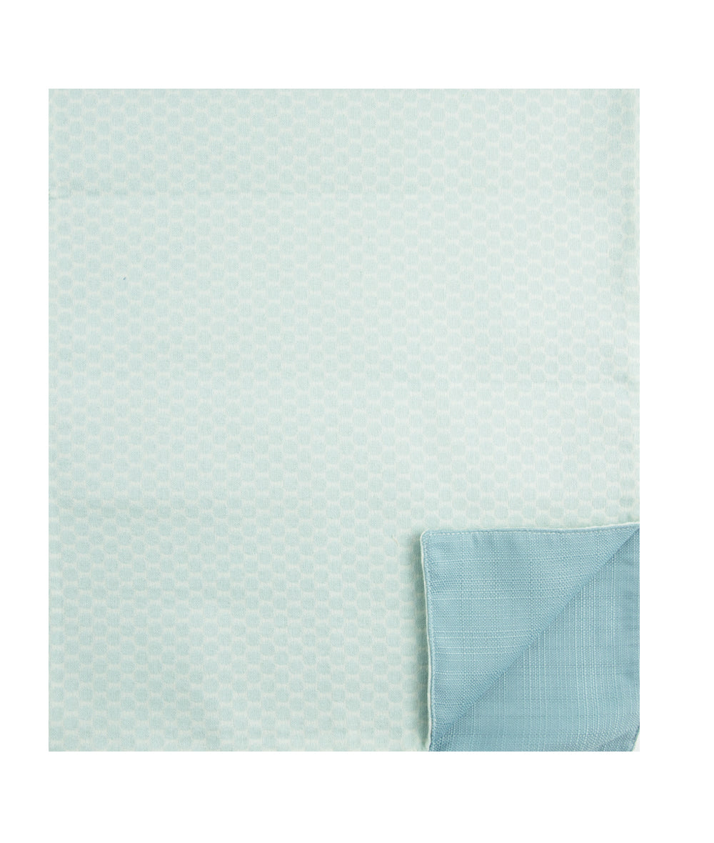 Aqua Dot Reversible Table Runner