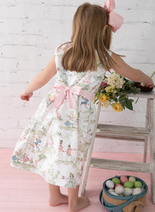 Nursery Rhyme & Pink Check Molly Dress