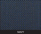 Navy Fabric Upholstery