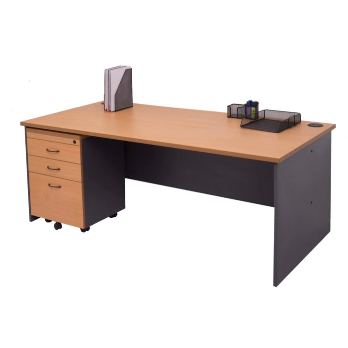 Rapid Worker Straight Desk | Teamwork Office Furniture