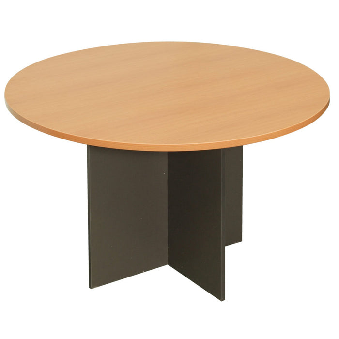 Iron Stone Base Round Table | Teamwork Office Furniture