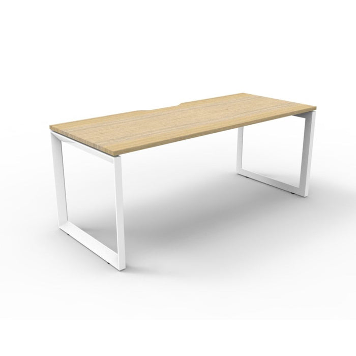 Deluxe Rapid Infinity Single Sided Workstation | Teamwork Office Furniture