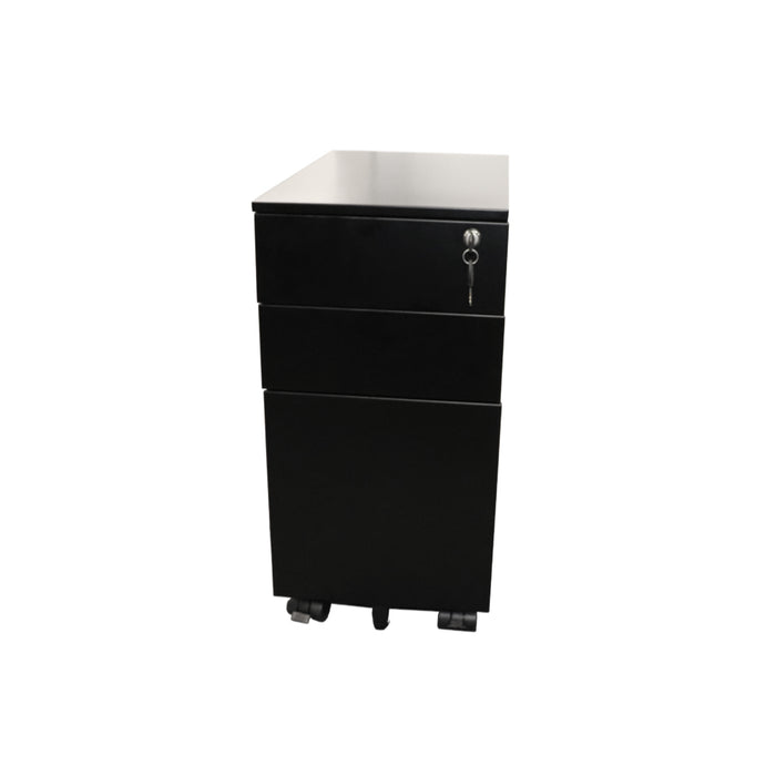 Go Steel Slimline Mobile Pedestal | Teamwork Office Furniture