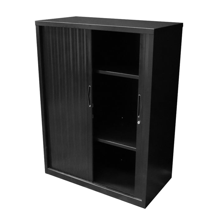 Tambour Door Cupboard | Teamwork Office Furniture