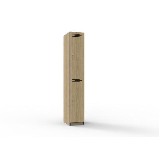 2 Door Melamine Locker | Teamwork Office Furniture