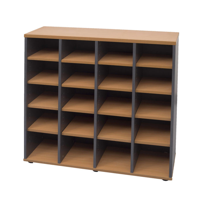 Rapid Worker Pigeon Hole Unit | Teamwork Office Furniture