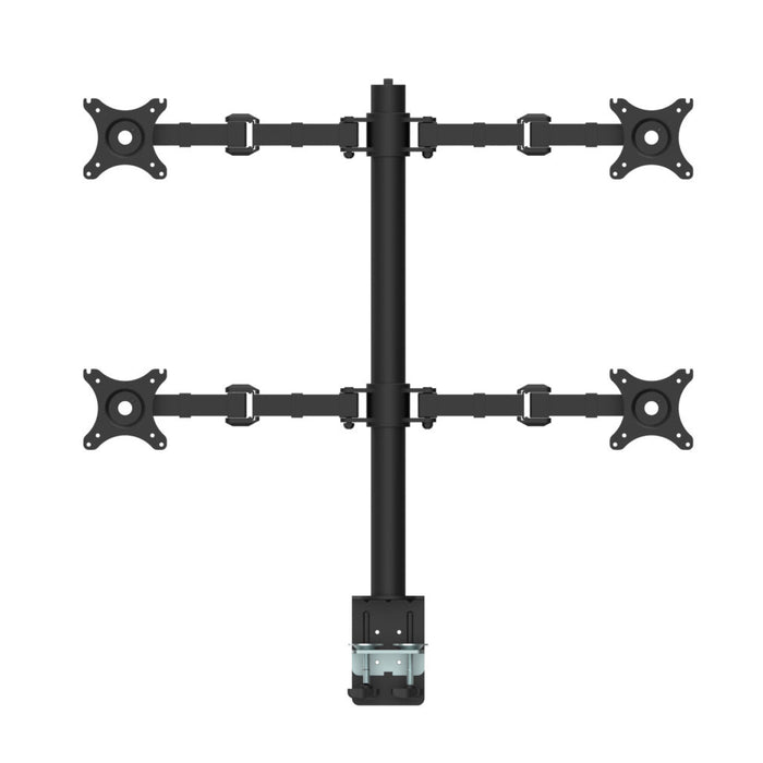 Revolve Quad Monitor Arm | Teamwork Office Furniture