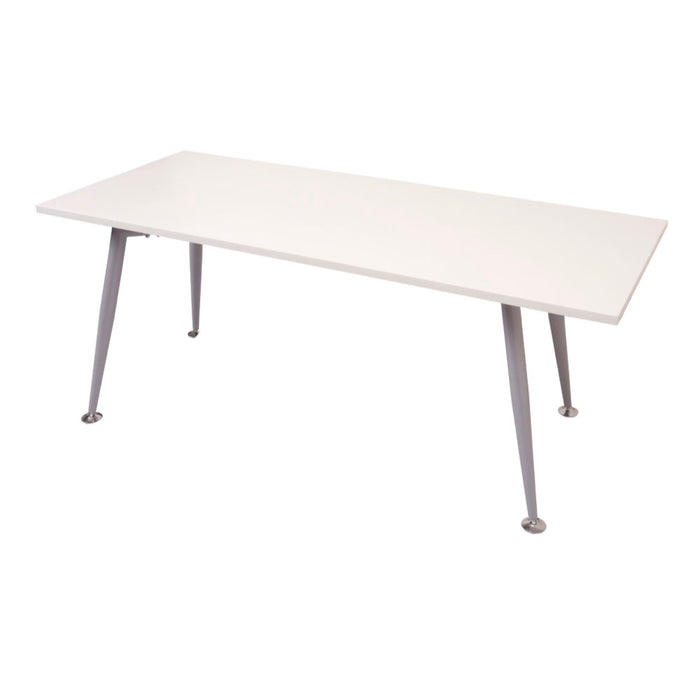 Silver Frame Table | Teamwork Office Furniture