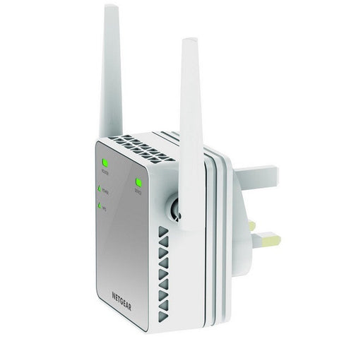 Netgear - N300 WiFi Range Extender (Essentials Edition)