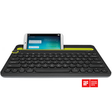 Logitech - K480 Bluetooth Multi-Device Keyboard