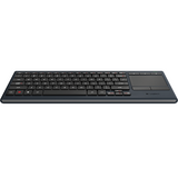 Logitech - Illuminated Living-Room Keyboard K830