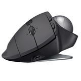 Logitech - MX ERGO Wireless Trackball Mouse