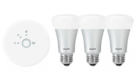 Philips Hue Starter Pack.Philips Hue Connected Bulb Starter Pack 3 Bulbs And Wireless