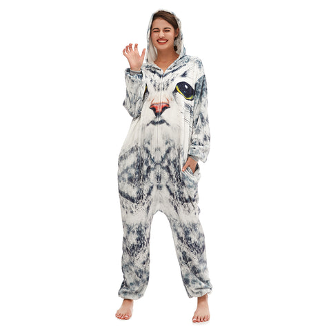 3D Cat Sleepwear For Women